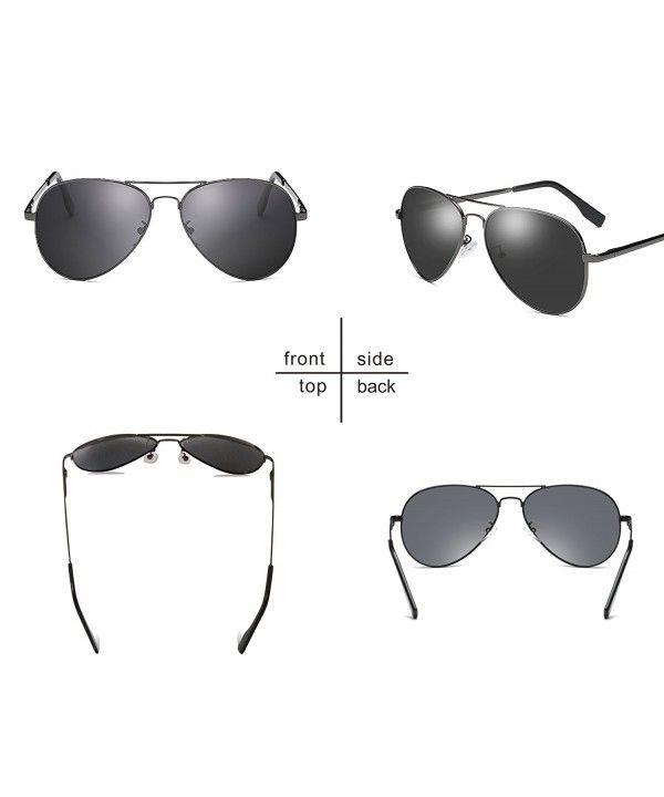 Men Military Classic Aviator Polarized Sunglasses UV400