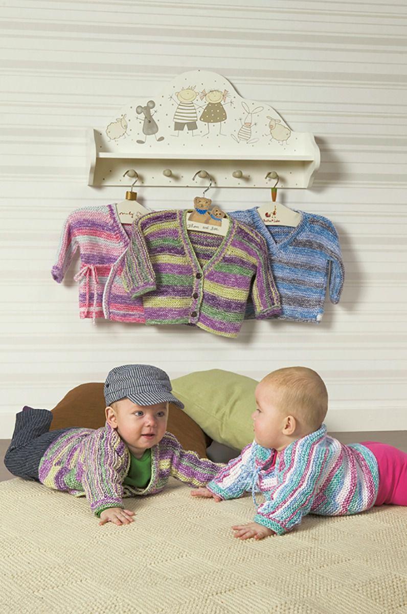 10 01. rätstickade basplagg till baby | Bebiströjor