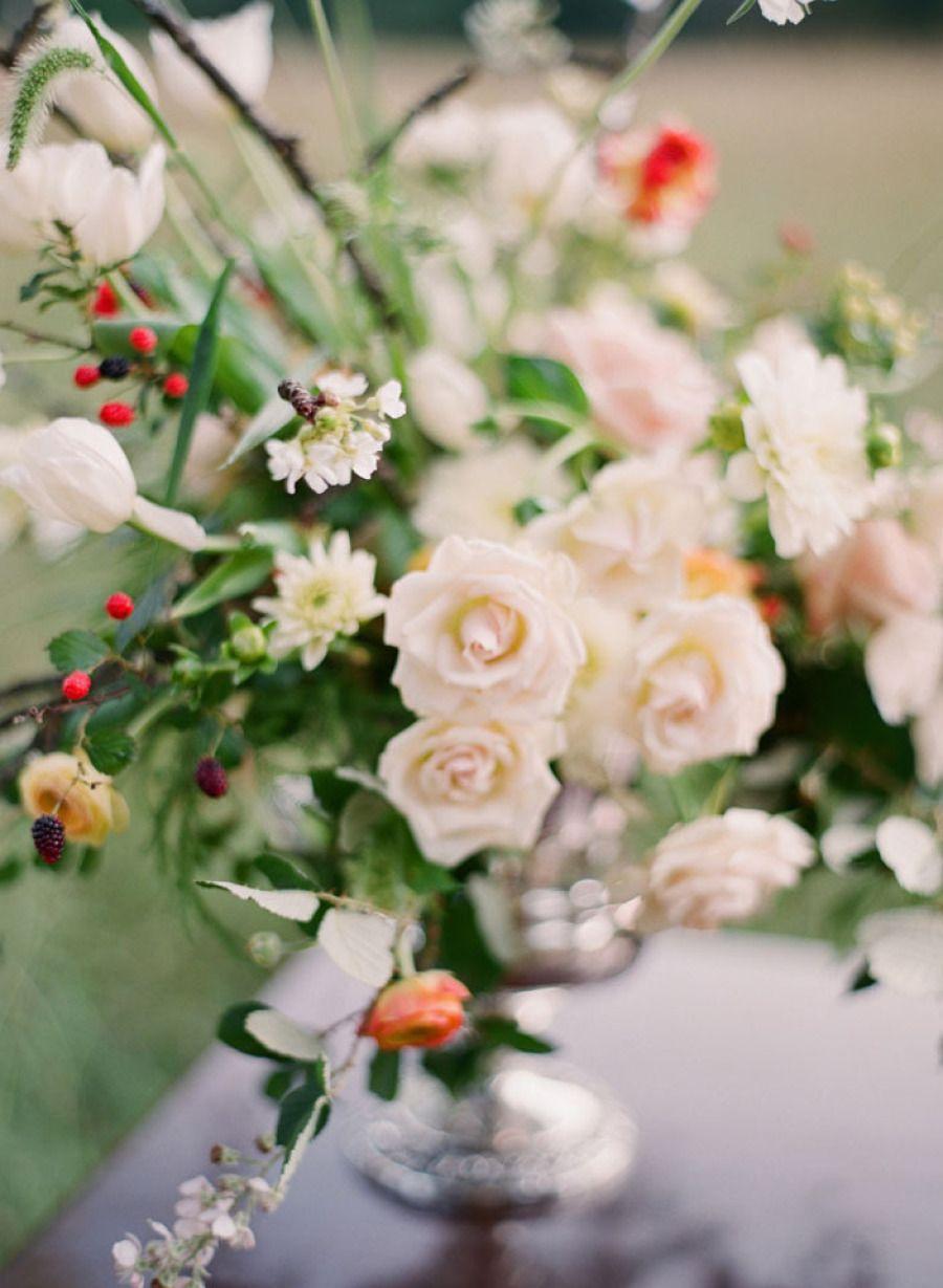 Wedding Centerpiece | http://www.stylemepretty.com/georgia-weddings/newnan/2012/09/11/falconry-inspired-photo-shoot-from-odalys-mendez-photography/ Odalys Mendez Photography