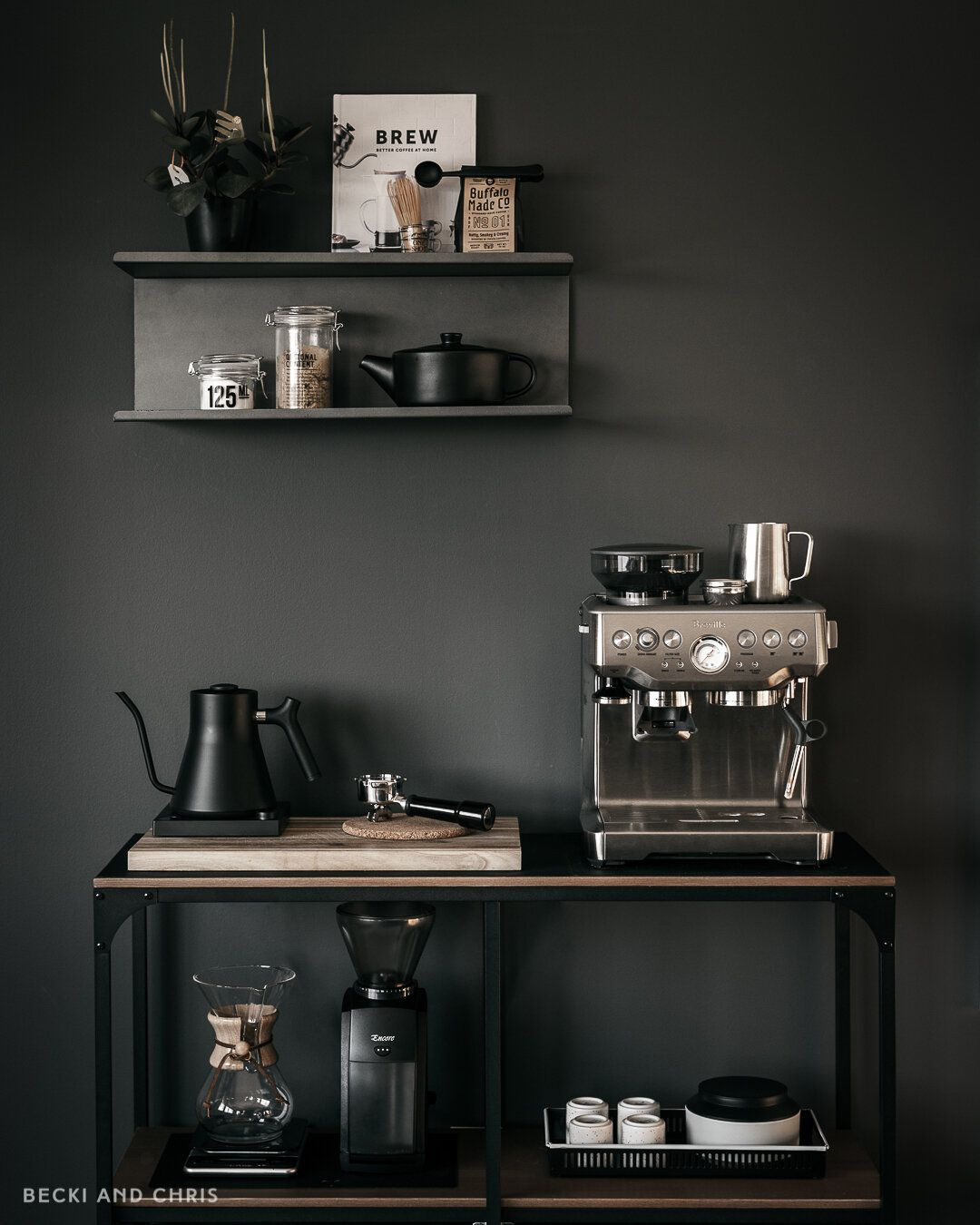 At Home Coffee Station Tour