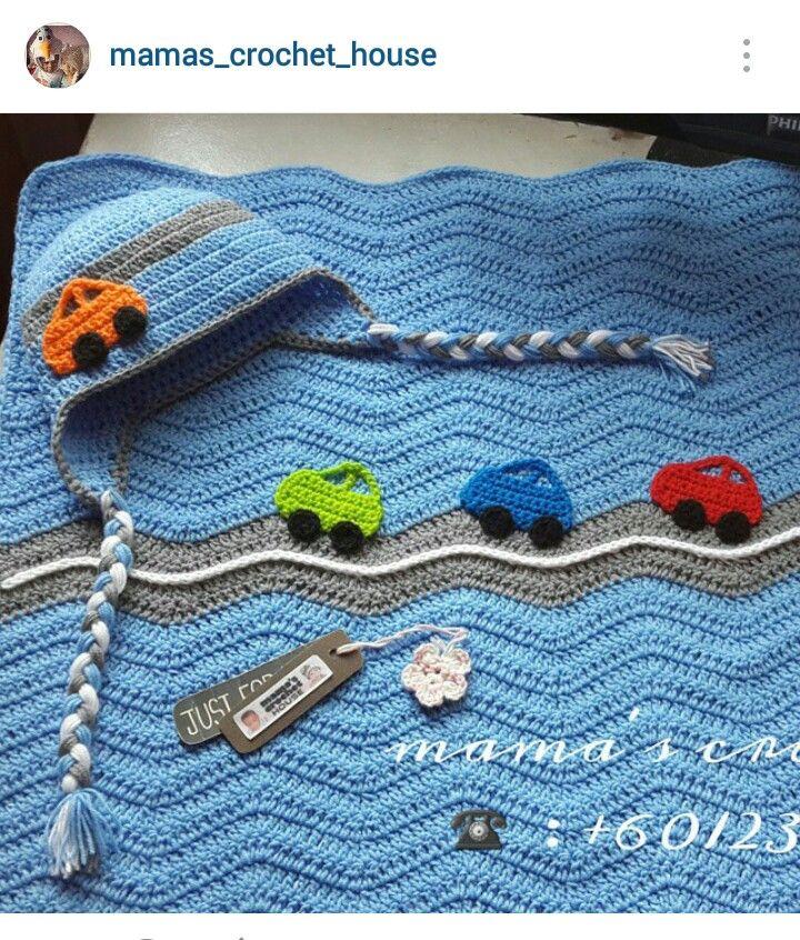Instagram Mamascrochethouse Crochet Baby Beanieblanket With