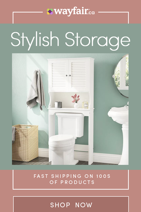 Renovate Your Bathroom With Wayfair Ca Sign Up For 10 Off Your First Order And Up To 70 Thousands Of Products Shop Top Toilets Vanitie Trendy Bathroom Tiles