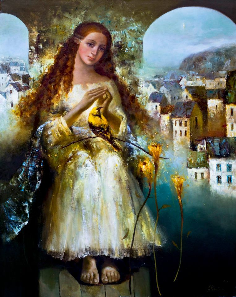 "Angelica Privalihina,""Melody of Silence"""
