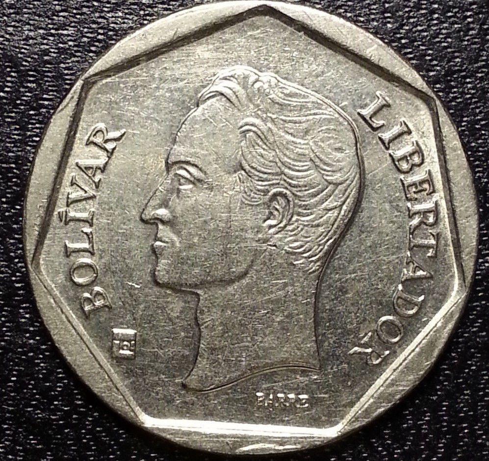 1999 100 Bolivares Venezuela Nice Coin