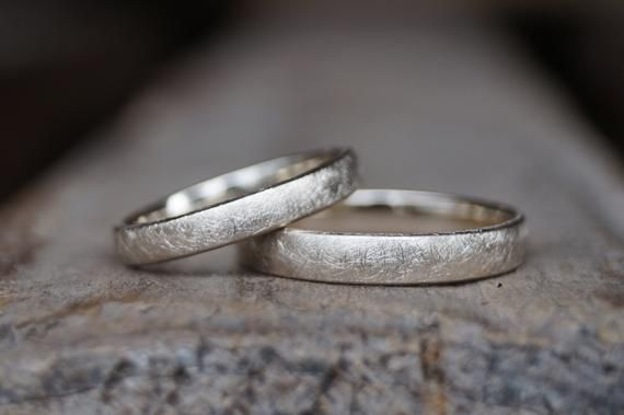 "Photo of Wedding rings ""We two"" Chamois 750 / –"