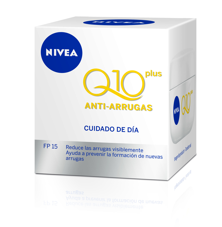 Crema Antiarrugas Cuidado de Día NIVEA VISAGE Q10 Plus..