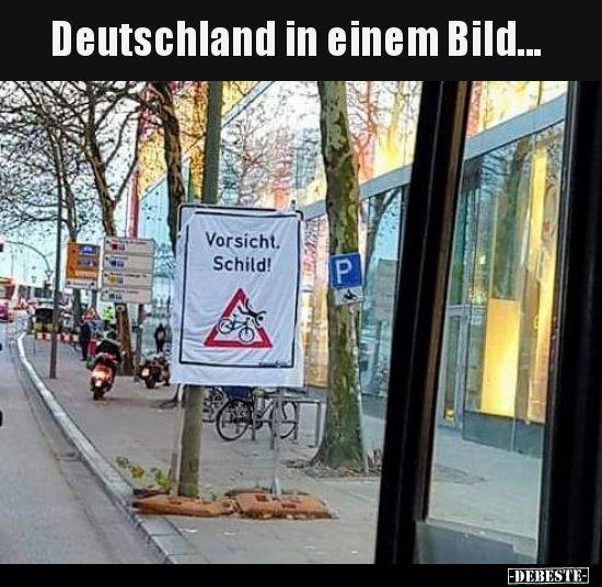 Deutschland in einem Bild... | Lustige Bilder, Sprüche, Witze, echt lustig #golfhumor
