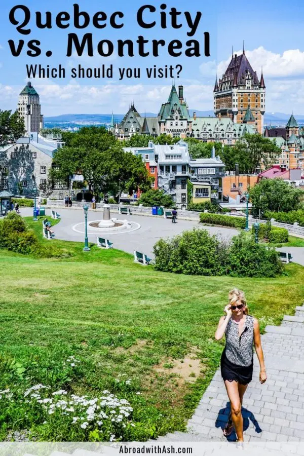 Montreal Vs Quebec City Which City Should You Visit I Ll Take You Through Both Cities And Tell You Which Is The Per Montreal Travel Quebec City Canada Travel