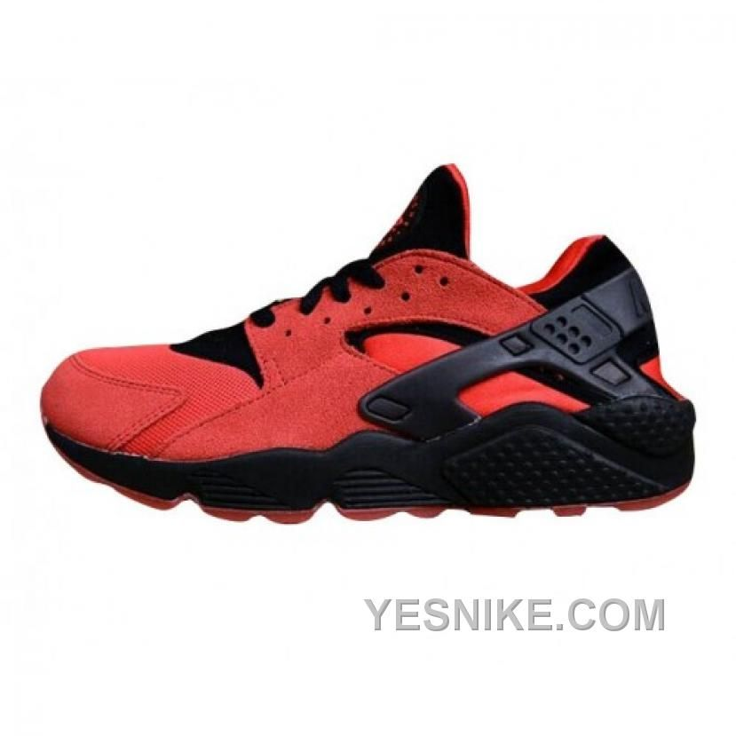 new concept 77211 3427e SOLDES FEMMES REMARQUABLES NIKE AIR HUARACHE RUN QS LOVE HATE HOMME FEMME  CHAUSSURES ROUGE NOIR FRANCE Only  80.00 , Free Shipping!