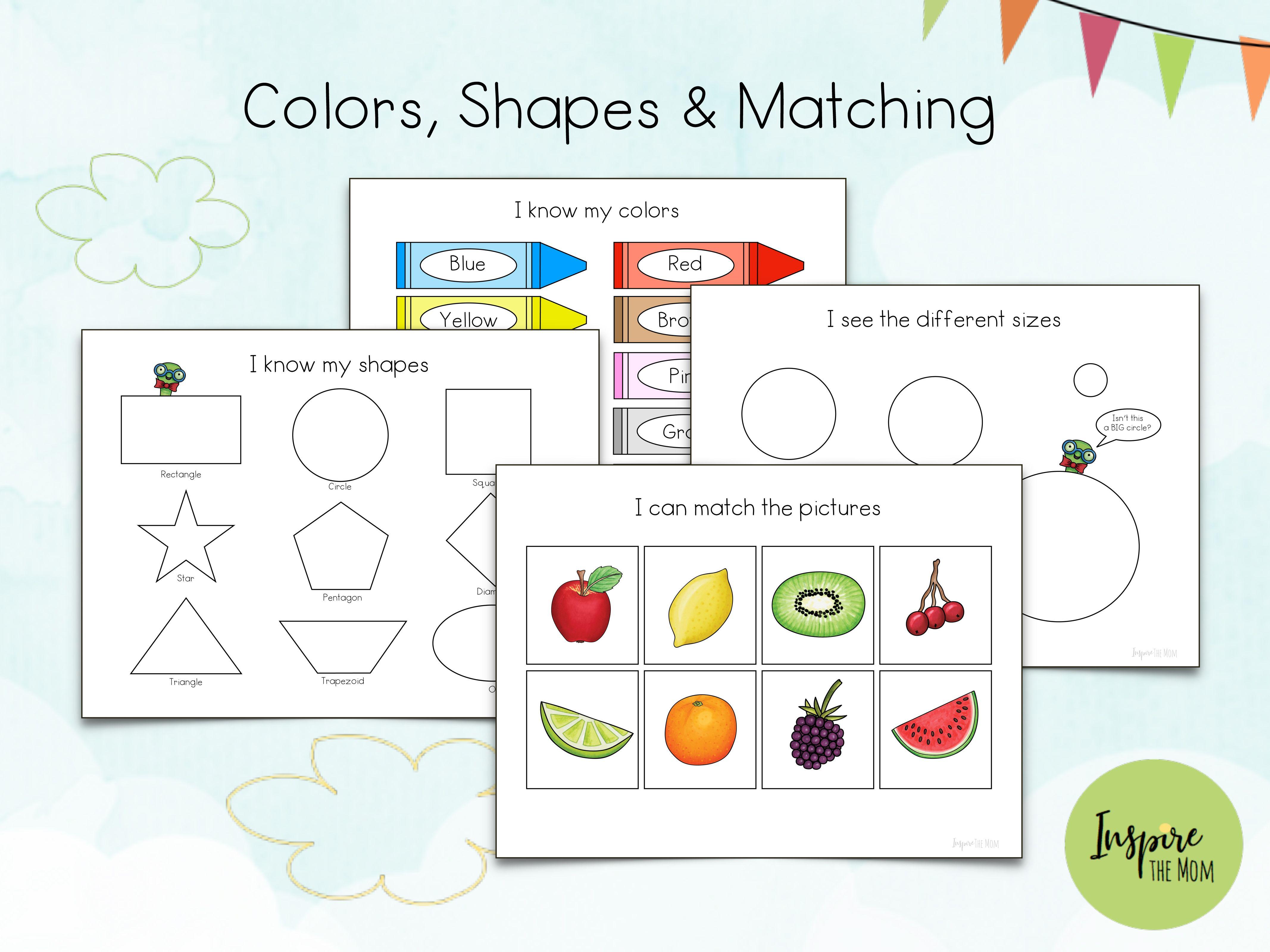 Updated Preschool Learning Folder