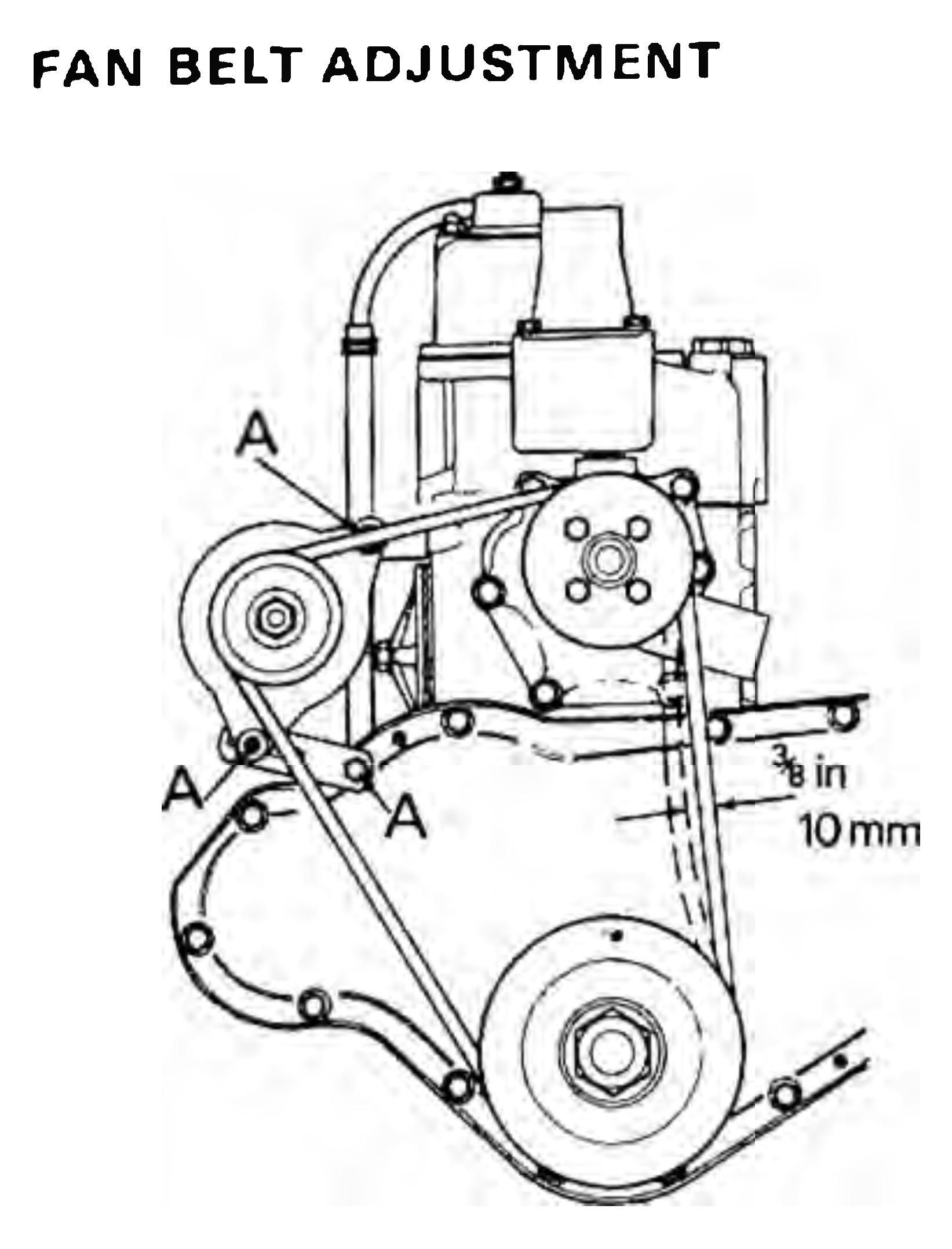 Use this adjustment on most common tractor engines and you