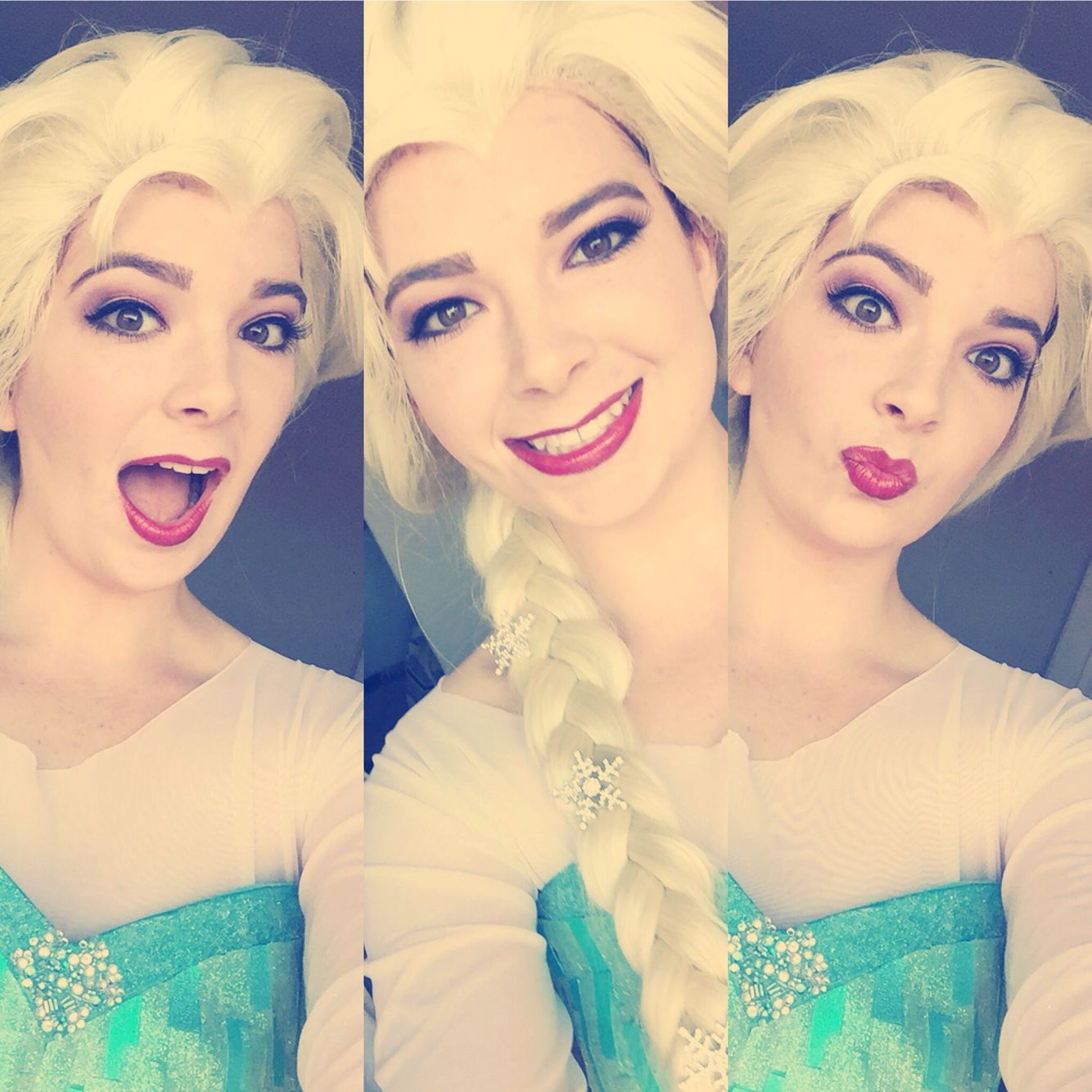 Being Elsa was more fun than being me