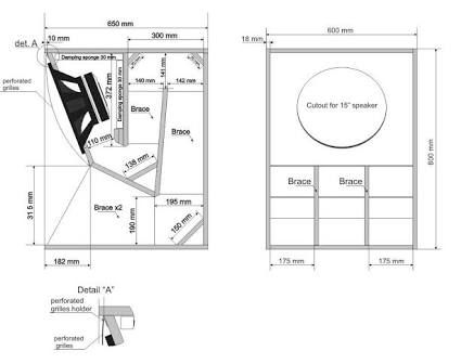 Image Result For Loud Speaker Plans Speaker Plans Subwoofer Box Design Speaker Box Design