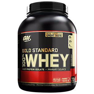 Gold Standard 100 Whey Protein Vanilla Ice Cream 5 Lbs 73 Servings Gold Standard Whey Protein Optimum Nutrition Gold Standard Gold Standard Whey