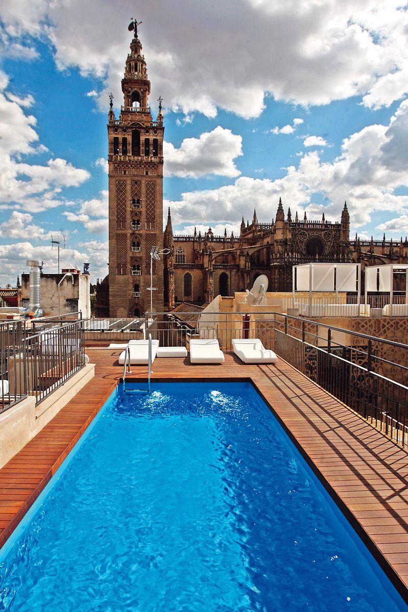 120 planes redondos para semana santa sevilla pinterest - Terraza hotel eme ...