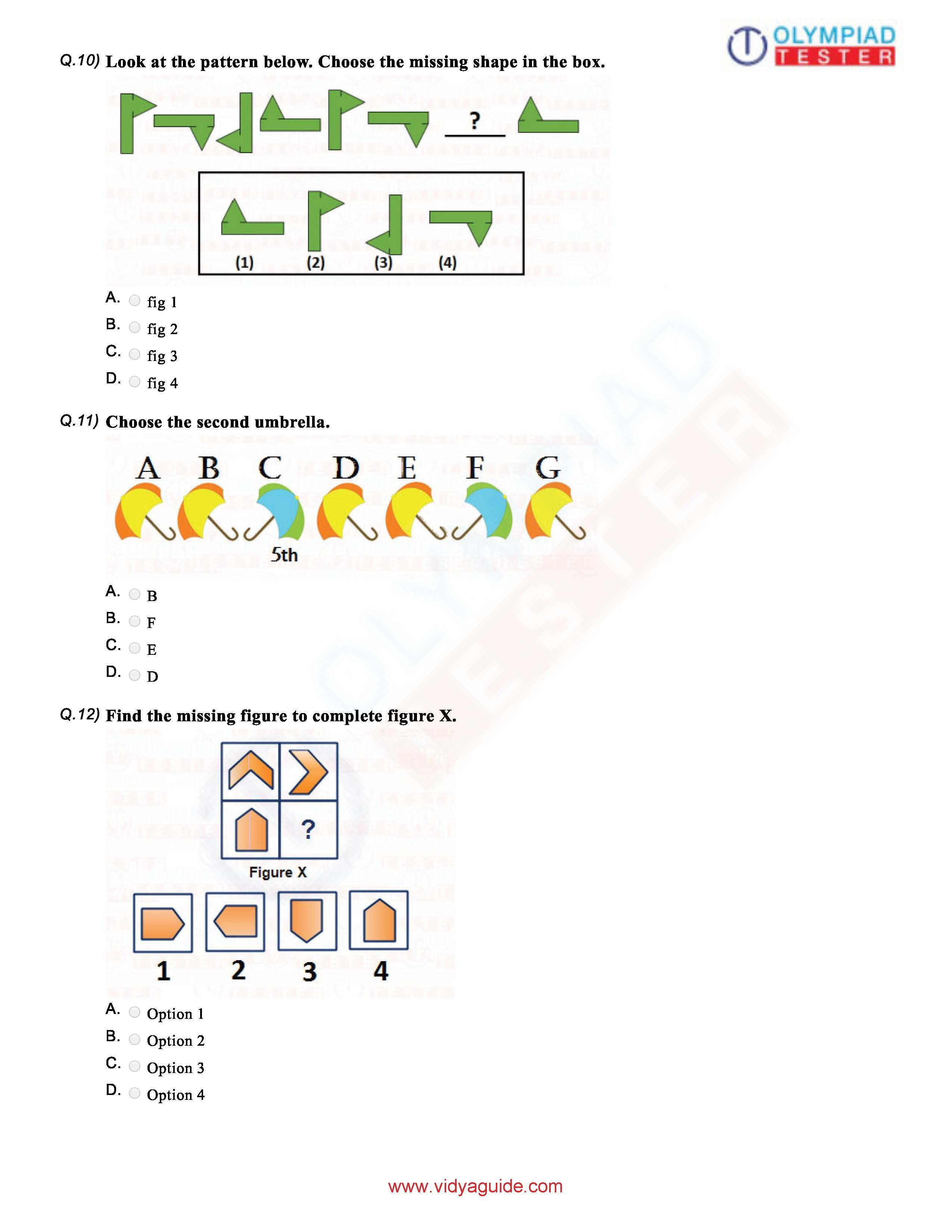 Download Grade 1 Math Olympiad Sample Paper A Pdf Worksheet On Our Website Clas Imo Free Course O Activitie Preschool Research In Mathematic