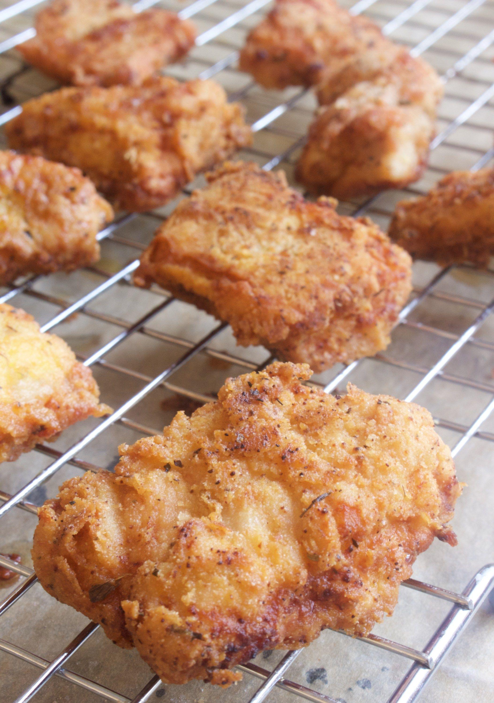 Fried Cassava Flour Turkey Nuggets (AIP, Paleo, Keto, Low-FODMAP options)