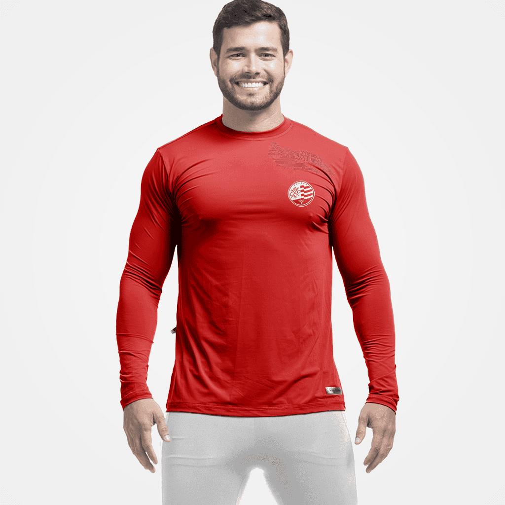 Camiseta Masculina Clube Náutico com Proteção UV  e5e803d7b82
