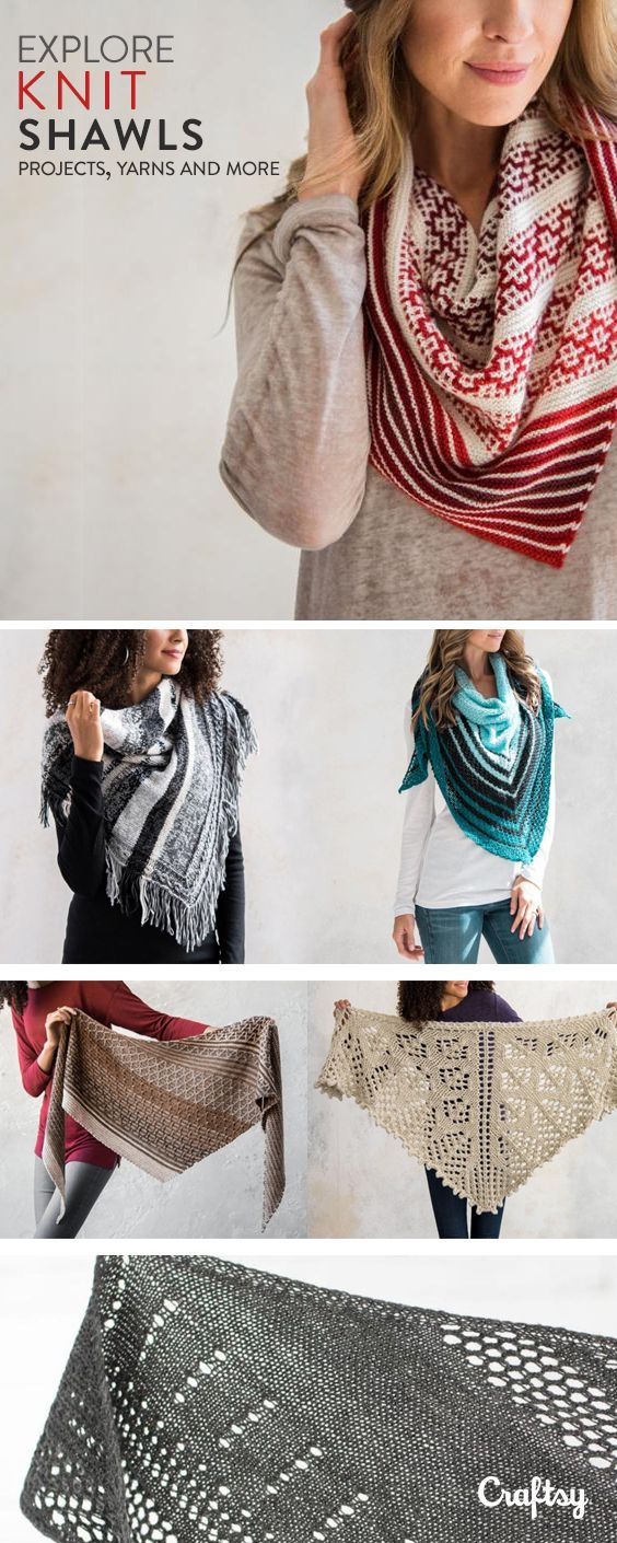 Explore shawl knitting projects, yarns, videos and more! | Muster ...