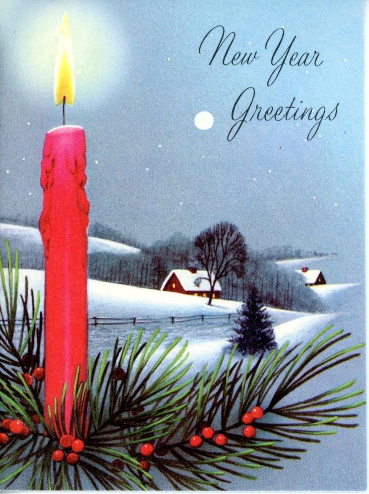 Vintage norcross new years greeting card 3016 vintage new year vintage norcross new years greeting card 3016 m4hsunfo