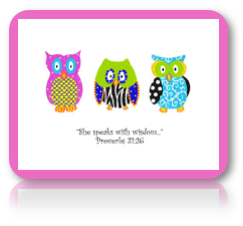 Owls Notecards for EB
