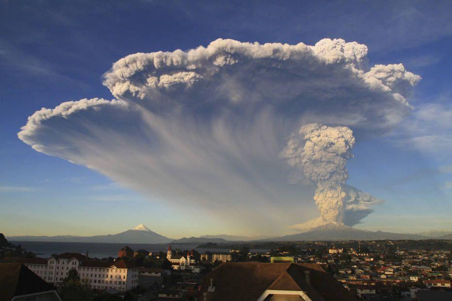 vulcão chile depois de 42 anos via Estadão