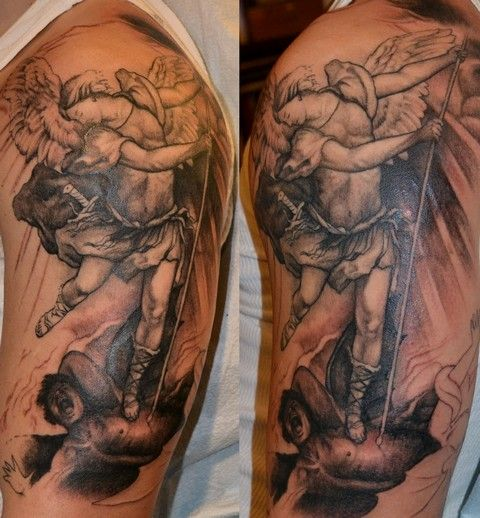Pin By Tattoos By Devlin On Angel Tattoos