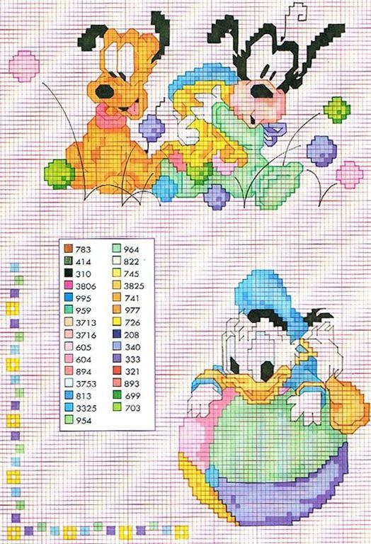 Disney cross stitch | punto cruz | Pinterest | Punto de cruz, Puntos ...