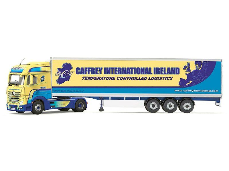 Spielzeugautos & Zubehör Corgi Mercedes-benz Mp4 Curtainside Diecast-modell Caledonian Logistik