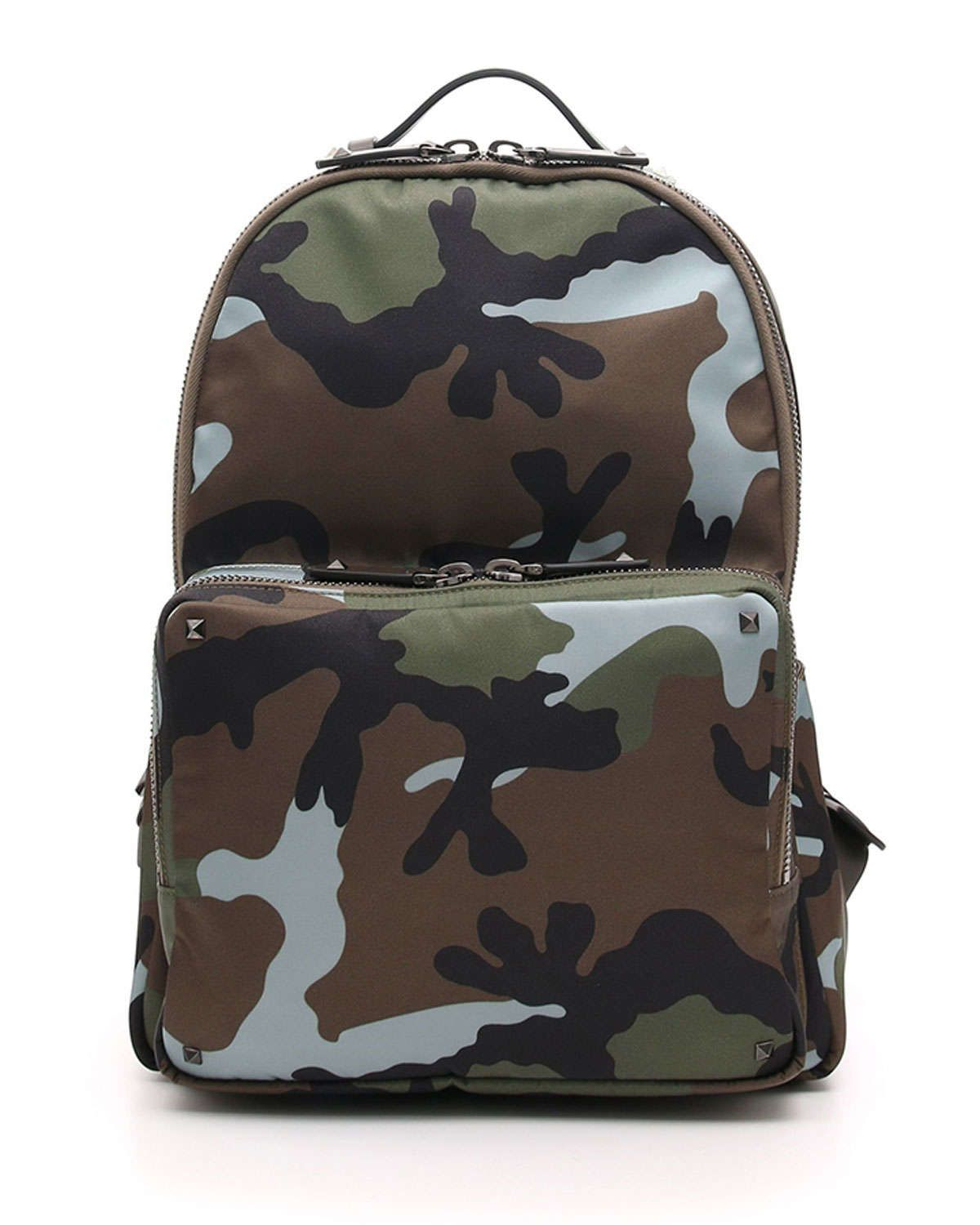 5ea7f5e60f5b Men s Camo Nylon Backpack