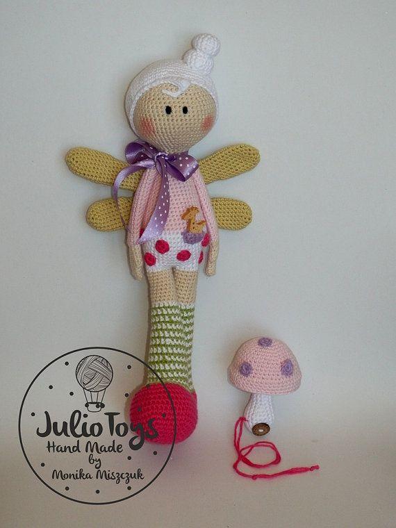 Lula crochet dragonfly PDF pattern   Puppen, Handarbeiten und Häkeln
