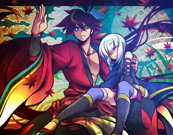 Аниме картинка истории мечей togame yasuri shichika uousa ...