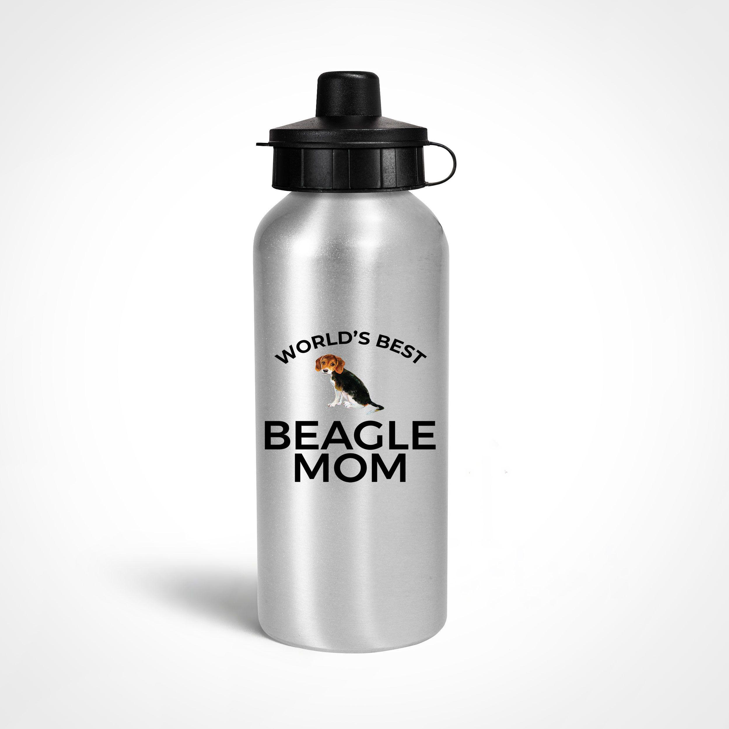 Beagle dog mom water bottle bpafreebottle giftformom