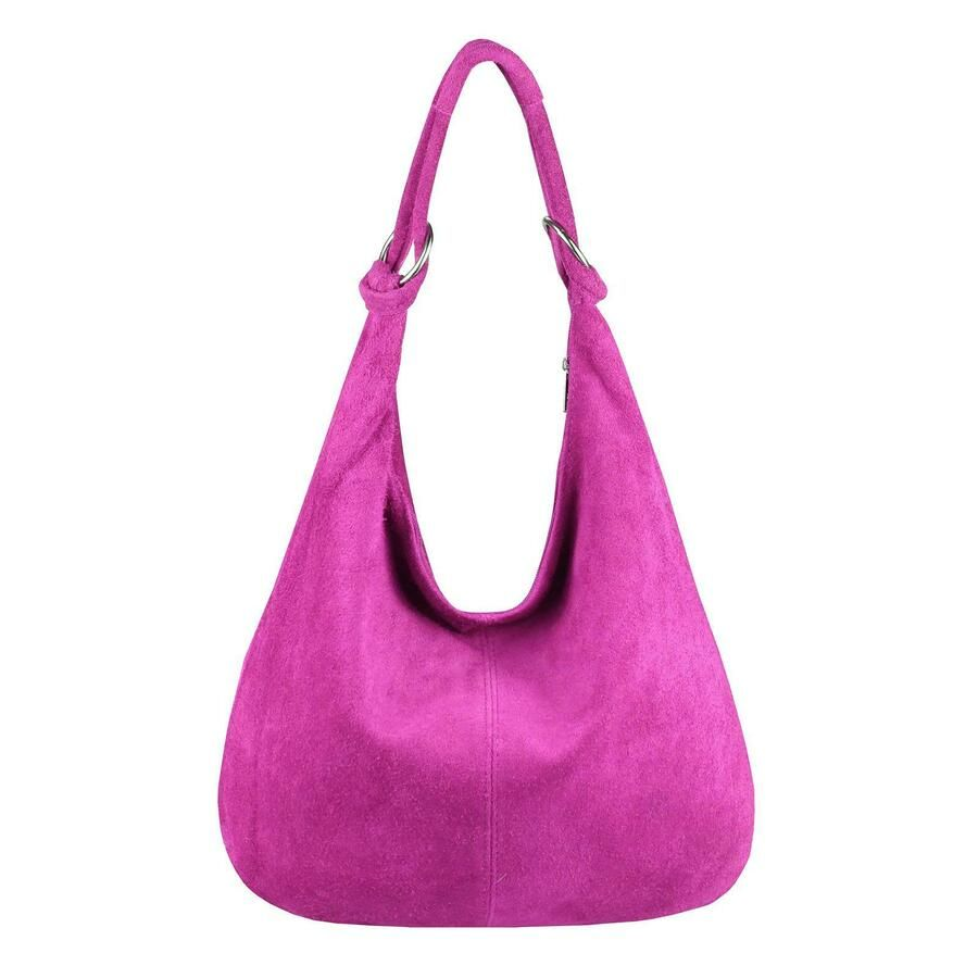 Italy Women Genuine Leather Handbag Suede Xxl Shopper Shoulder Bag Hobo Bag Ad Spon Leather Handbag Genui Real Leather Bags Suede Bags Leather Bag Design