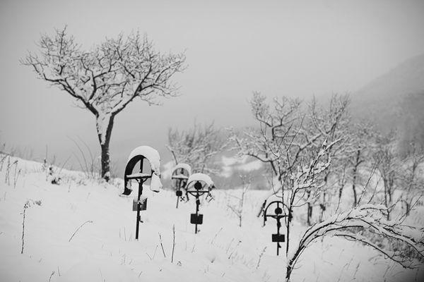 Bi Cimitir Iarna Poiana Botizei 02 An M Winter Night Romania