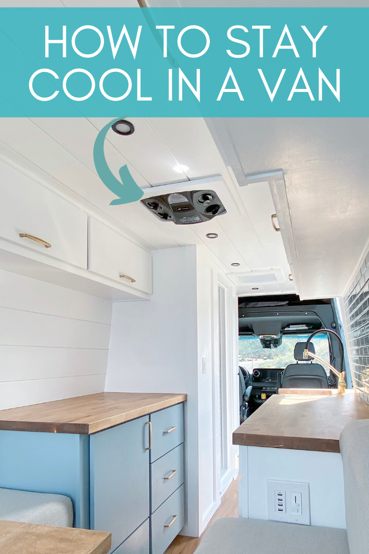 Get this 12 volt ac unit to stay cool in van life cool