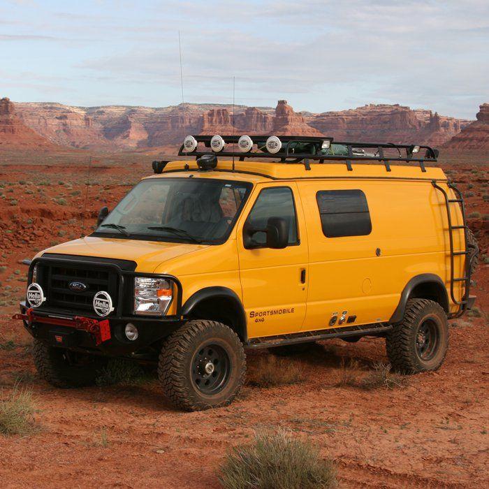 Sportsmobile Overland Vehicles 4x4 Camper Van Vehicles