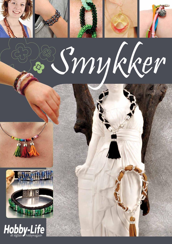 Smykker  Tema magasin fra bladet Hobby-Nyt omkring smykker og smykke lavning