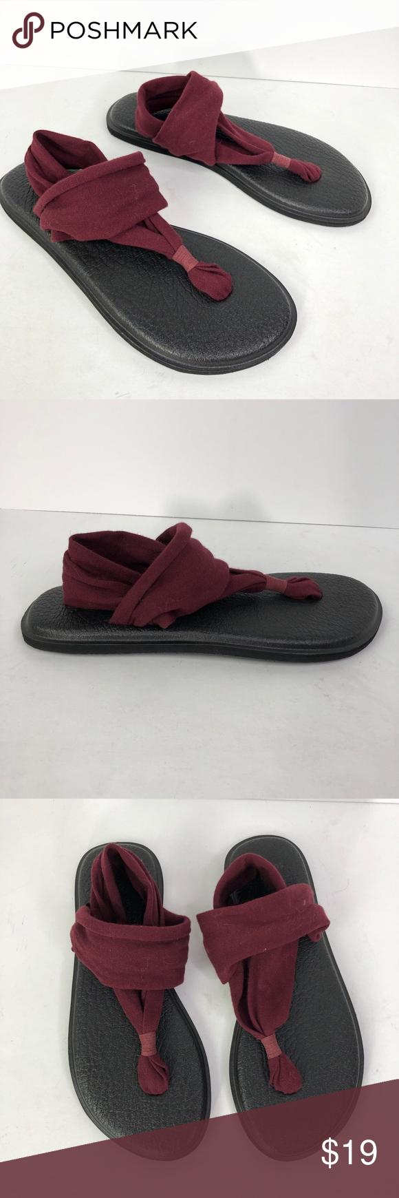 Sanuk Yoga Sling 2 Womens Sandals Black Footwear