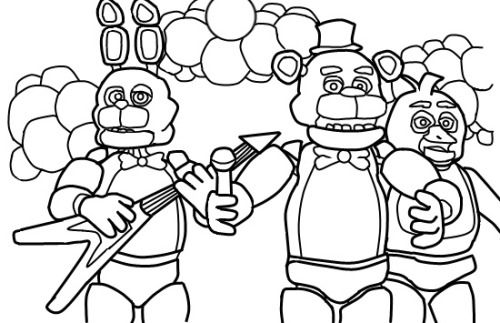 Flowr S Blog Fnaf Coloring Pages Coloring Pages Free Coloring Pages