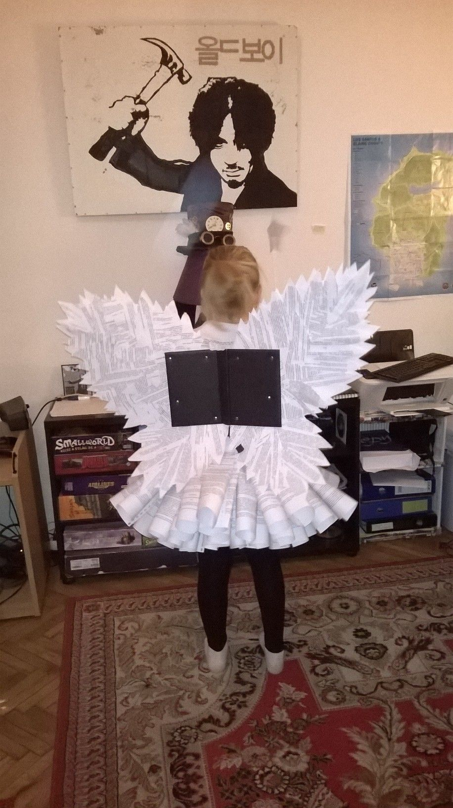 book fairy costume instructions