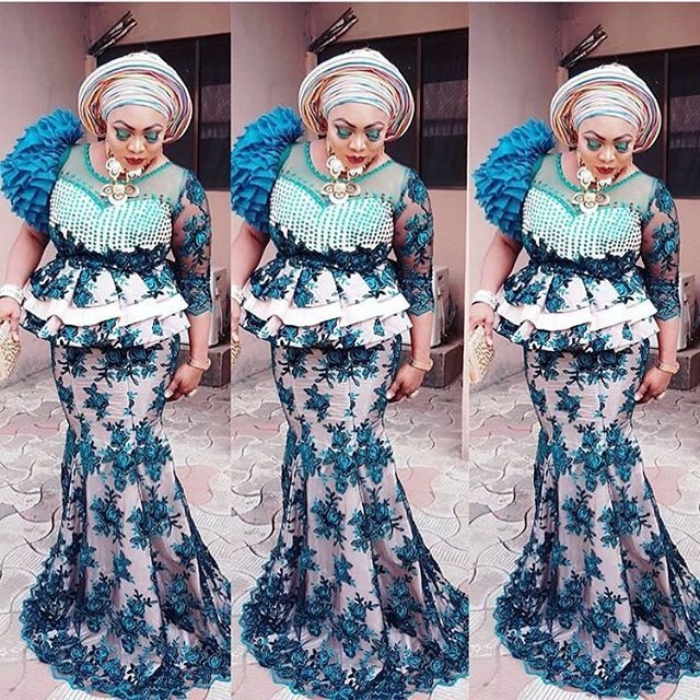 3f15ba49246829 Sophisticated Aso Ebi Skirt and Blouse Designs for Lovely Wedding Guests...Sophisticated  Aso Ebi Skirt and Blouse Designs for Lovely Wedding Guests