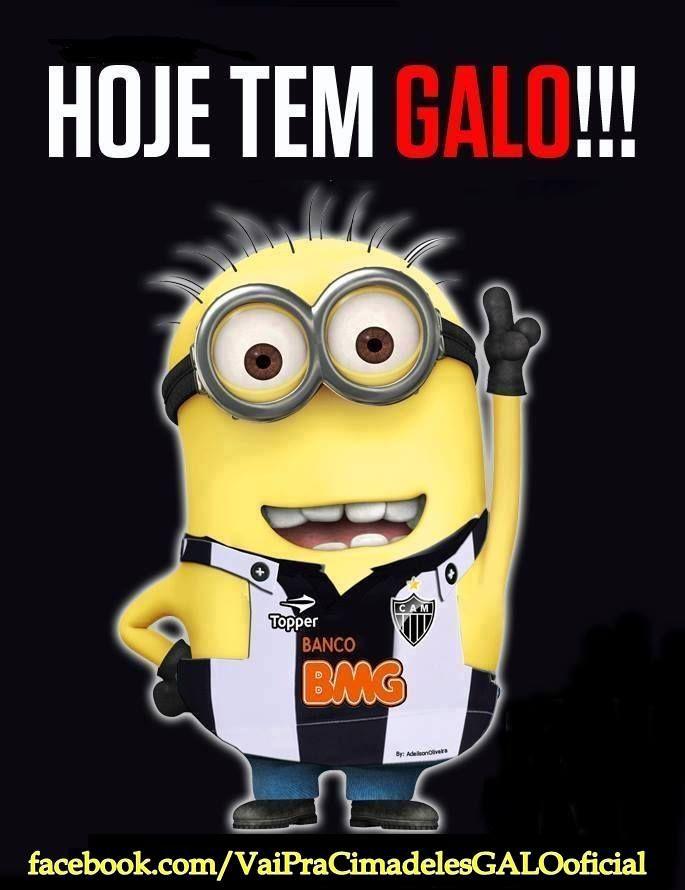 Hoje Tem Galo Galoucura Clube Atletico Mineiro Atletico