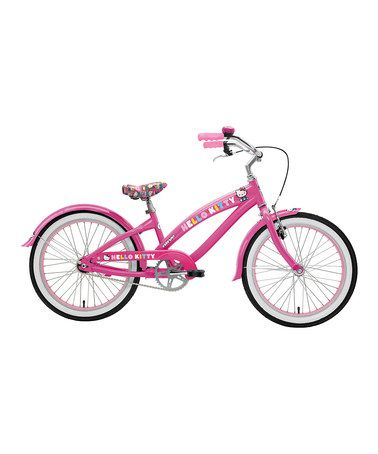 Take a look at this Pink Hello Kitty 20'' Wheel Bicycle by Nirve Sports on #zulily today!