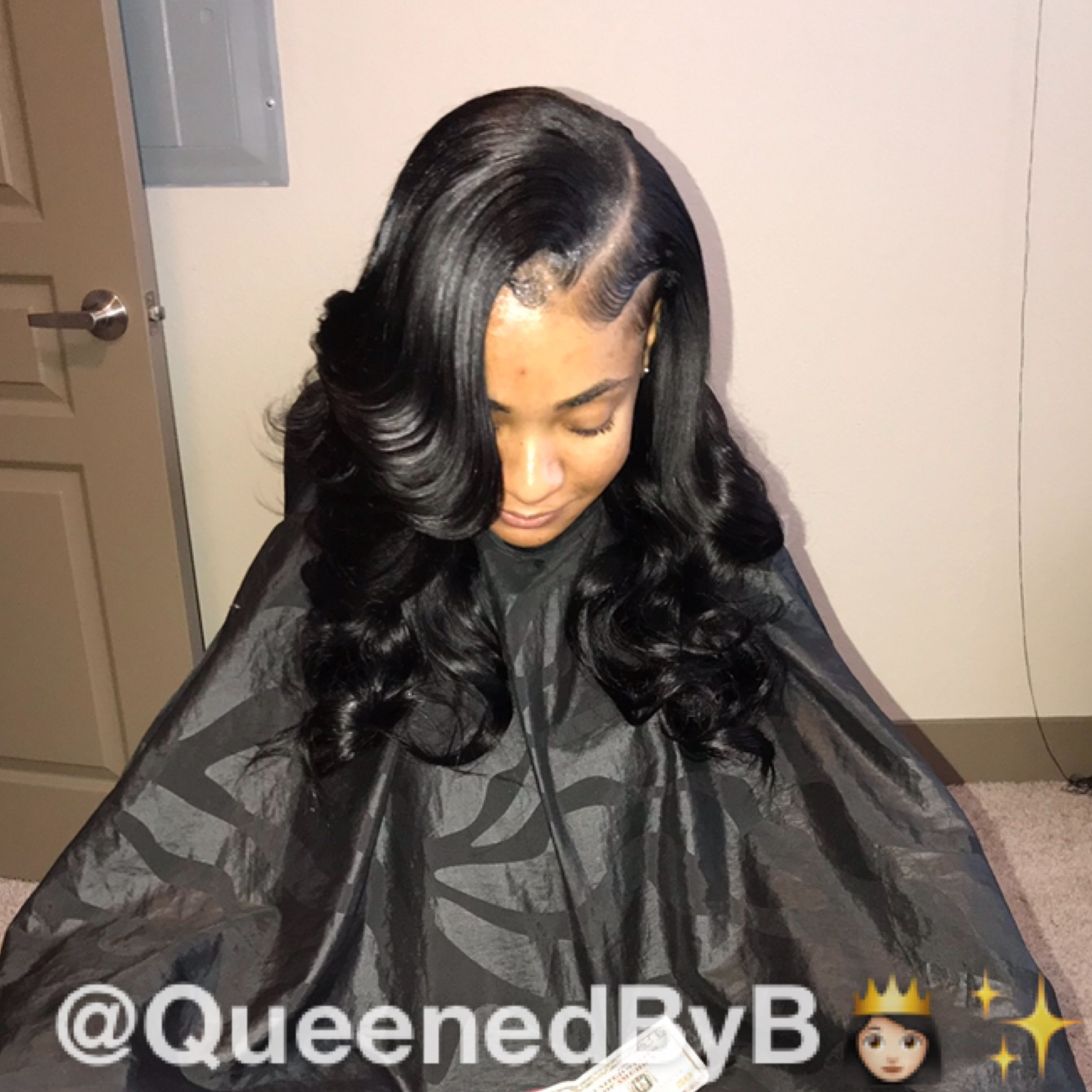 Queenedbyb Curls For Long Hair Long Hair Styles Curled Hairstyles