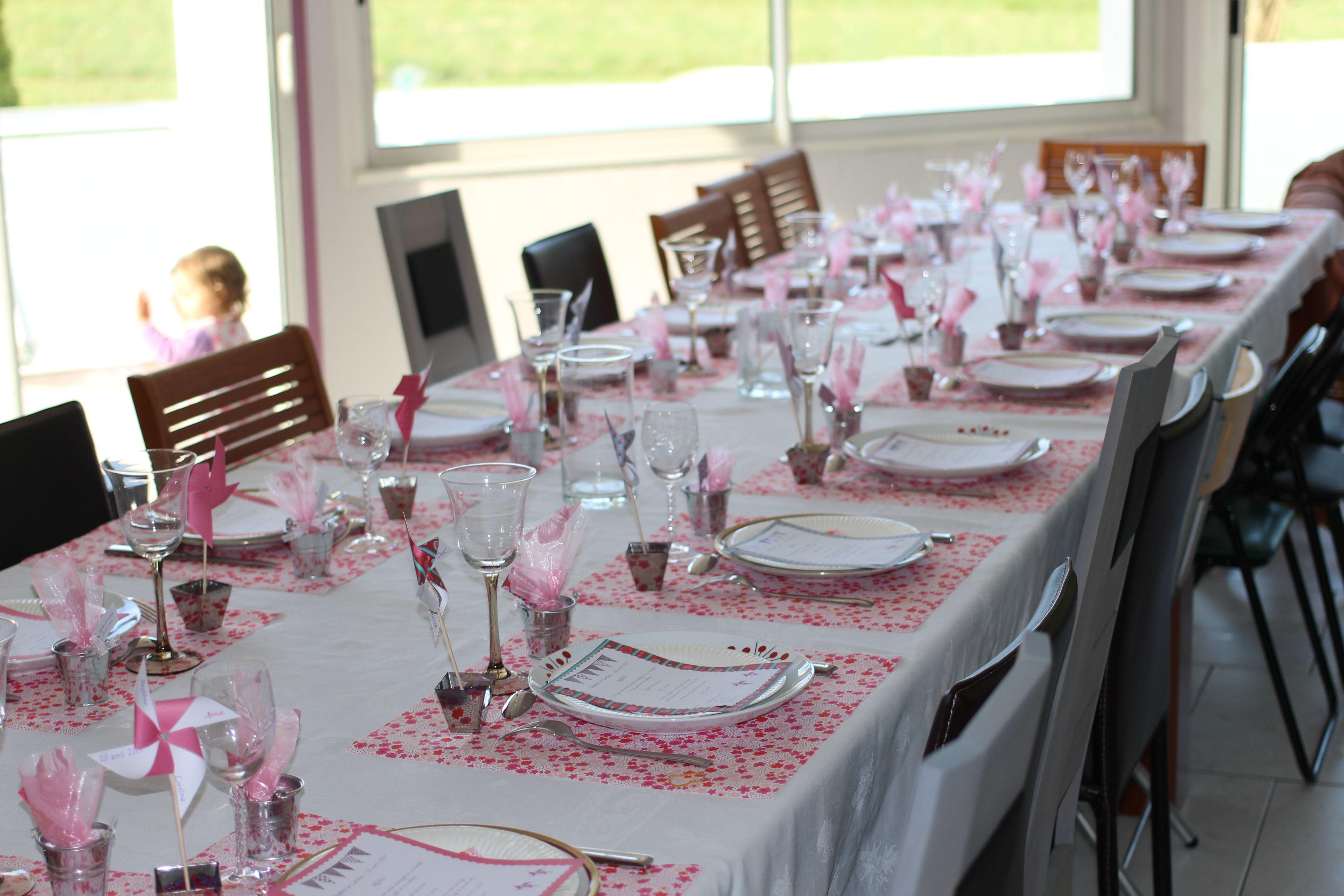bapt me lorelina moulins vent by me d co fleurs hema mes jolies tables anniversaire. Black Bedroom Furniture Sets. Home Design Ideas