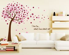 Ideal ufengke Cartoon Smiley Sonnenblumen Regenbogen Wandsticker Kinderzimmer Babyzimmer Entfernbare Wandtattoos Wandbilder ufengke
