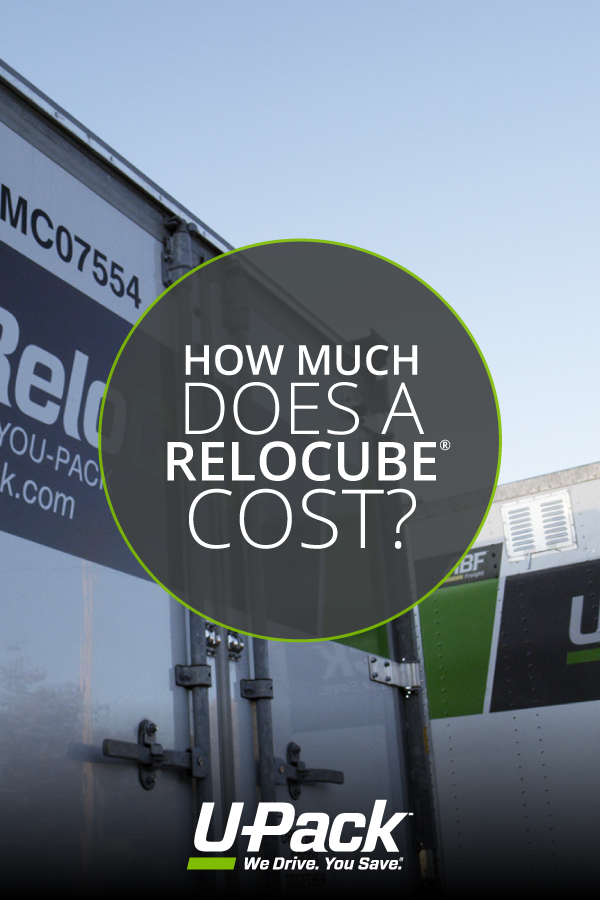 Upack Quote Delectable Wondering How Much A Relocube Costs We Break It Down In This Post