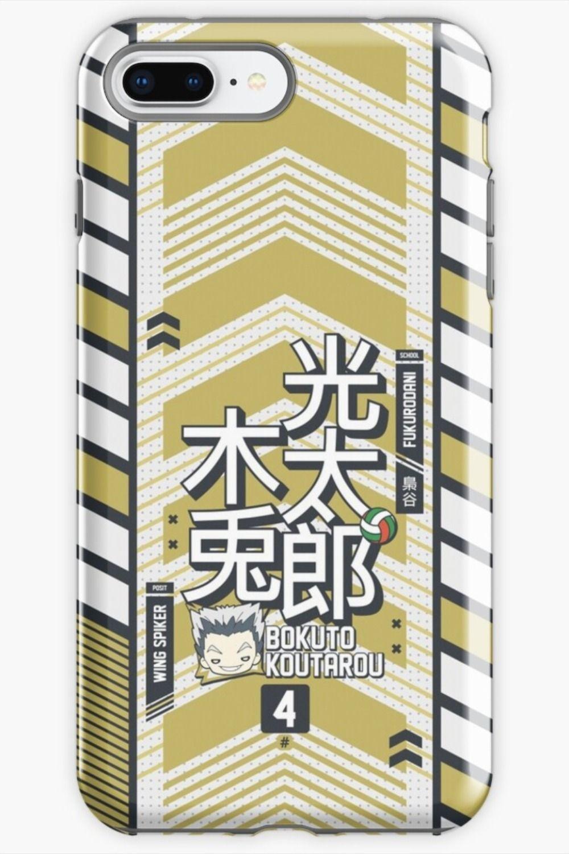 Bokuto Koutarou Fukurodani Academy Haikyuu Iphone Case By Ihasartwork In 2020 Bokuto Koutarou Iphone Case Covers Haikyuu