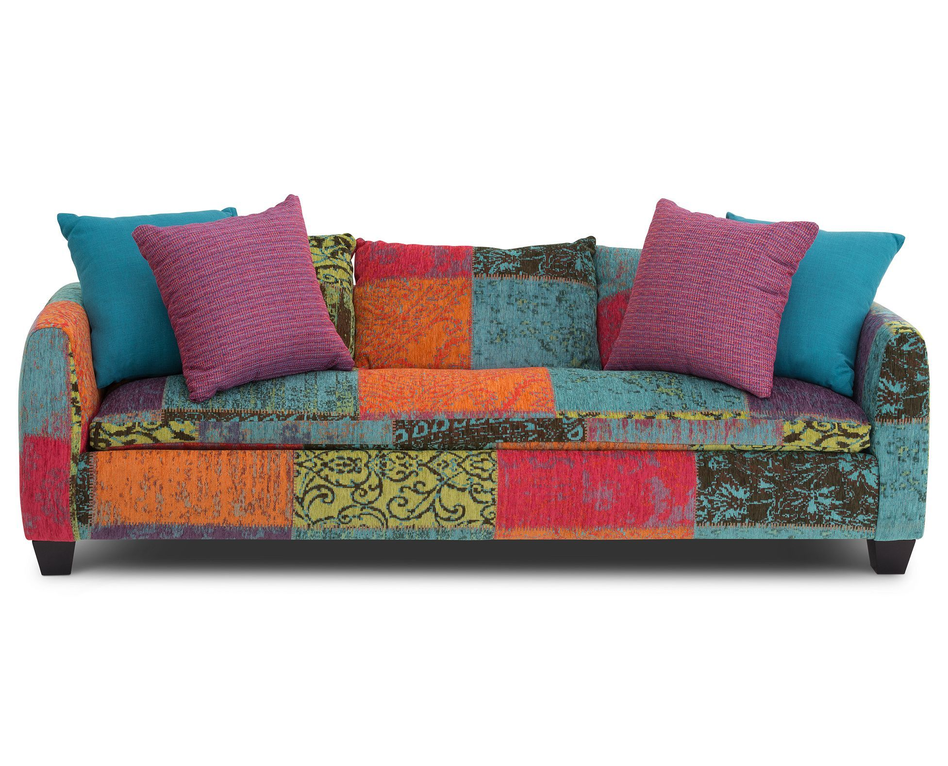 Explore Your Colorful Creative Side In Your Living Room With The
